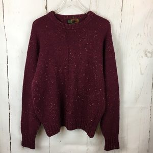 Boston Traders | Vintage Speckled Grandpa Sweater